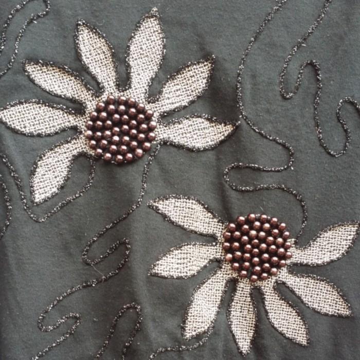 Blusa vintage khaki
